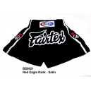 BS-0621 Fairtex Red Eagle Rank Shorts, Satin